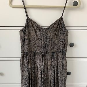 Wilfred Dresses - Wilfred silk 'Nina' dress in snakeskin - Sz 4